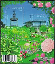 2010 FRANCE BLOC F4384** BF Salon du Timbre 2010 Jardin feuillet,  sheet MNH
