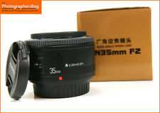 YONGNUO yn35mm 35mm f2 EF Obiettivo grandangolare per reflex EOS + spedizione gratuita nel Regno Unito
