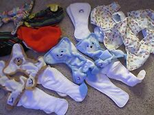 Lot of Cloth Diapers - 20 Piece Set - Covers - Pads - STARBUNZ