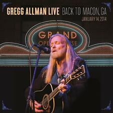 Gregg Allman Live: Back To Macon, GA - 2CD & DVD Set Neu