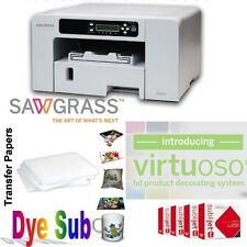 Sawgrass Virtuoso SG400 with Ink set +100 Sheets of Sublimation Paper