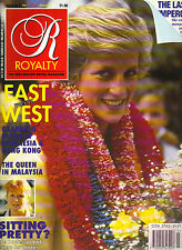 PRINCESS DIANA UK Royalty Monthly Magazine 12/89 INDONESIA HONG KONG