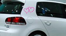 Herzen Herz Mercedes Smart  Auto Aufkleber Sticker Schrift Deutschland Fun VW