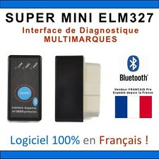 SUPER MINI ELM327 BLUETOOTH - Diagnostic MULTI MARQUES - OBD - VAGCOM -  ANDROID