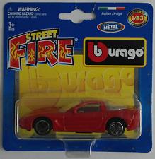 Bburago -'04/2004 Chevy Corvette rojo 1:43 nuevo/en el embalaje original maqueta de coche