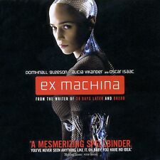 Ex Machina 2014 R science fiction psychological thriller new Blu-ray A. Vikander