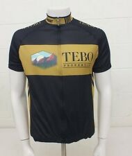 Verge Team TEBO Properties Cycling Bike Jersey Men's Size Large NEW LOOK