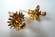 NEW Jeu de 2 STRAPLOCKS CUSTOM - gold  -  Attache-sangle - Lock 'n Roll