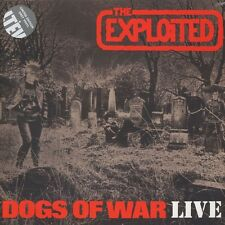 THE EXPLOITED Dogs Of War Live 2015 UK LP Grey Vinyl LTD SEALED/UNPLAYED