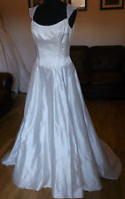 Silk Anna Christina Caberet Ivory Wedding Dress Size 12/14 -  RRP £2199