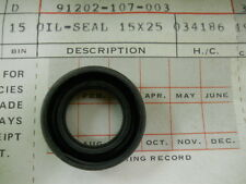 Honda NOS XR200, CB125, GL1100, XL100, Oil Seal 15x25x7, # 91202-107-003    C5