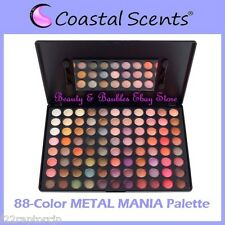 NEW Coastal Scents 88-Color METAL MANIA EyeShadow Palette FREE SHIPPING Metallic