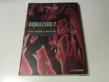 BIOHAZARD 2 DUAL SHOCK BOOK 1998 JAPAN GAME RESIDENT EVIL PS1 ZOMBIE CAPCOM z