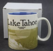 Starbucks Lake Tahoe Global Icon Coffee Mug Collector Series 16 oz Cup