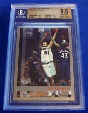 1997-98 TOPPS CHROME #115 TIM DUNCAN RC BGS 9.5 x 3 10 CORNERS ~ TRUE GEM MINT