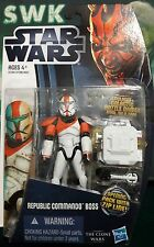 "Star Wars Clone Wars Clone Commando Boss 3.75"" Figure CW11."