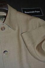 $2495 Ermenegildo Zegna Beige Wool Jacket S 48 ITALY