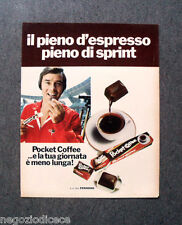P704 - Advertising Pubblicità -1973- POCKET COFFEE , ESPRESSO SPRINT