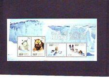 Australisch Antarctica  2014  Huskies  honden blok   postfris/mnh
