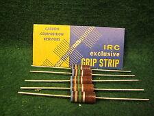 (1) 5 Pack IRC Carbon Comp 6.8 Meg OHM 2 Watt 10% Resistors NOS