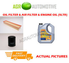 DIESEL OIL AIR FILTER KIT + LL 5W30 OIL FOR PEUGEOT 206 SW 2.0 90 BHP 2002-07