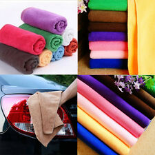 12Pcs Microfiber Kitchen Wash Auto Car Home Dry Polishing Cloth Cleaning Towel