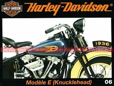 HARLEY DAVIDSON 1000 E Knucklehead de 1936 Californie du Sud Side Car MOTO HD