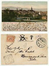 STORIA POSTALE 1901 REGNO 20 CENT. SU CARTOLINA PROVENIENTE DALLA GERMANIAD/8506