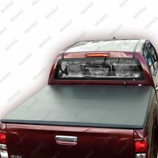 Isuzu Dmax 2012On Soft Roll Up Tonneau Bed Cover Eagle1 Soft Roll & Lock Premium