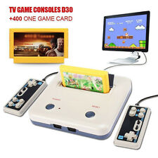 Retro TV Video Game Family Console + 400 in 1 Cartridge + Gamepads Two Control -