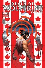 DEATH OF WOLVERINE 1 RARE CANADA CANADIAN McNIVEN VARIANT NM