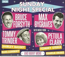 SUNDAY NIGHT SPECIAL - 3 CD BOX SET - MAX BYGRAVES, BRUCE FORSYTH & MANY MORE