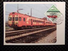Spain Mk ferrocarril Train Bird maximum tarjeta Carte maximum card mc cm a7845