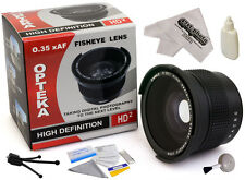 0.35x HD² Super Wide Angle Fisheye Panoramic Macro Lens for Canon EF 24mm f/2.8