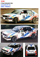 060 DECALS 1/43 LANCIA DELTA 16V GALLI RALLY DEI LAGHI 1996