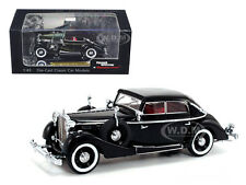 1937 MAYBACH SW38 SPOHN 4 DOORS CONVERTIBLE BLACK 1/43 BY SIGNATURE MODELS 43703