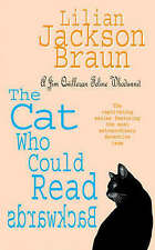 The Cat Who Could Read Backwards (Jim Qwilleran Feline Whodunnit),ACCEPTABLE Boo