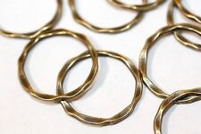 20pc Link Connector Rings Antique Bronze 22x15mm  1-3 day Shipping