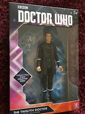 Doctor who  12th doctor in Hoodie and black trousers  5.5 inch  figure  set