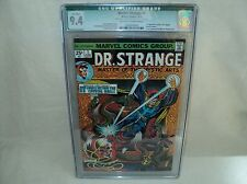 Doctor Strange #1 (CGC 9.4 QUALIFIED) OW/W pg; 1st Silver Dagger; 1974 (c#06305)