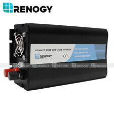 Renogy Off Grid Pure-Sine Wave Battery Inverter 500W 12V Input