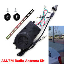 Full Power Antenna AM FM Radio Mast Replacement Kit Car Aerial Booster Universal