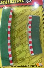 Bordes curva exterior para Scalextric SCX ES 1/32 Ref. 8795