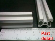 "Aluminum T-slot extruded profile 20x20-6  Length 500mm( 20""), 4 pieces set"