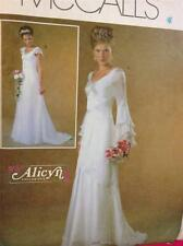 McCalls Sewing Pattern 4379 Ladies / Misses Lined Bridal Gown Size 16-22 Uncut