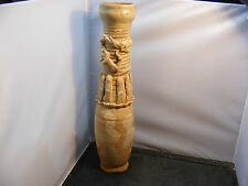 antique chinese celadon pottery vase Song/Sung dynasty burial jar dragon figure