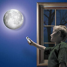 Creative 3D LED Luna Moon Night light Wall Touch Lamp Gift with Remote Control