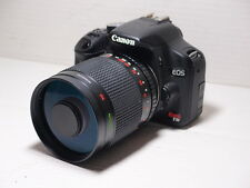 500mm lens =750mm on CANON DIGITAL 1000D 100D for Wildlife Photography 1200D EOS