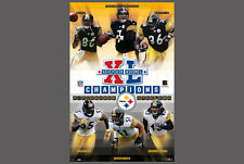 Pittsburgh Steelers SUPER BOWL XL (2006) CHAMPIONS Original Commemorative POSTER