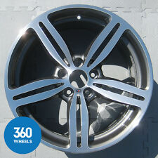 "1 X GENUINE BMW 6 SERIES 19"" M6 DOUBLE SPOKE 167 REAR ALLOY WHEEL 36117835147"